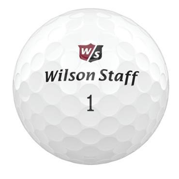 Wilson DX3 Spin Golf Balls Dozen  White