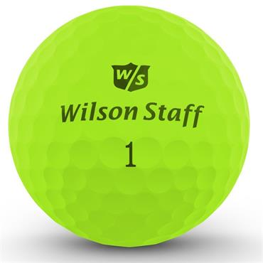 Wilson DX2 Optix Soft Golf Balls Dozen  Optic Green