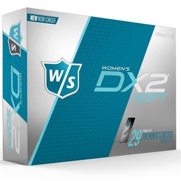 Wilson DX2 Soft Golf Balls Dozen  Lady