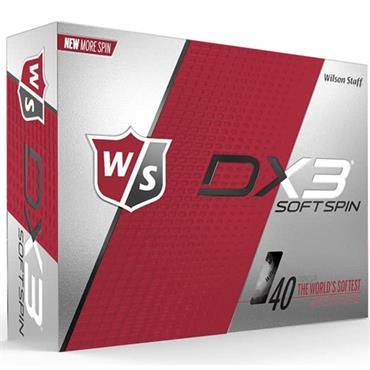 Wilson DX3 Soft Spin Golf Balls Dozen