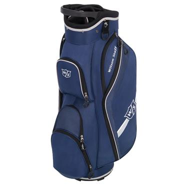Wilson Lite Cart Bag  Navy/Silver