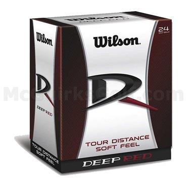 Wilson Deep Red Golf Balls 24-Pack