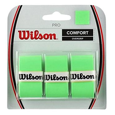 Wilson Pro Tennis Overgrip 3 Pack Green