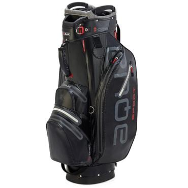 Big Max Waterproof Aqua Sport 2 Cart Bag Black - Silver