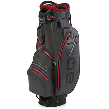 Big Max Waterproof Aqua Sport 2 Cart Bag Charcoal - Black - Red