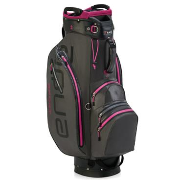 Big Max Waterproof Aqua Sport 2 Cart Bag Charcoal - Fuchsia