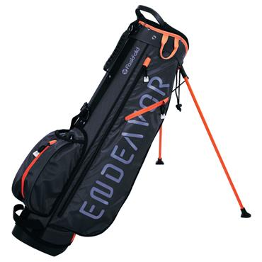 FastFold Endeavour Stand Bag  Navy Orange
