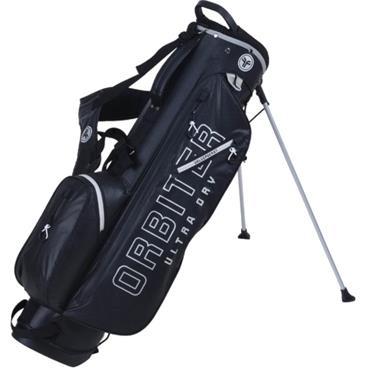 FastFold Orbiter Waterproof Stand Bag  Black Silver