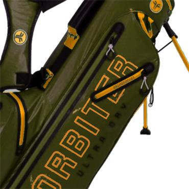 FastFold Orbiter Waterproof Stand Bag  Green Yellow