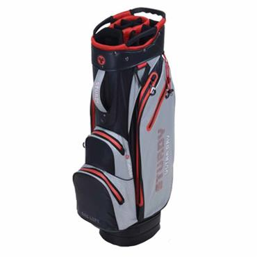 FastFold Sturdy Waterproof Cart Bag  Navy Grey Red