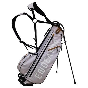 """FastFold Endeavor 7"""" Stand Bag  Silver Gold"""
