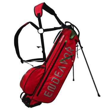 """FastFold Endeavor 7"""" Stand Bag  Red Green"""