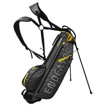 """FastFold Endeavor 7"""" Stand Bag  Charcoal Yellow"""