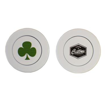 Shamrock Callaway Mission Coin Marker  White
