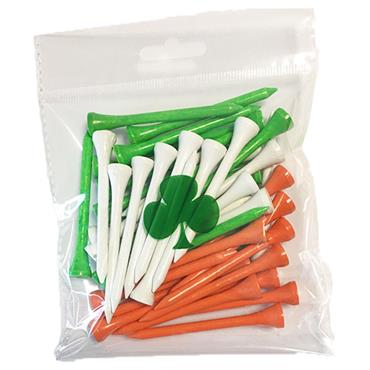 Yob Tricolour Wooden Tees 30-Pack  .