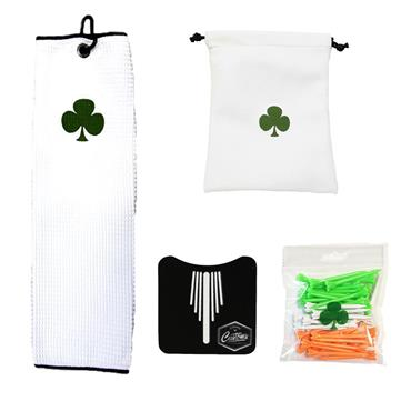 Shamrock Patricks Day Gift Set & Pouch  .