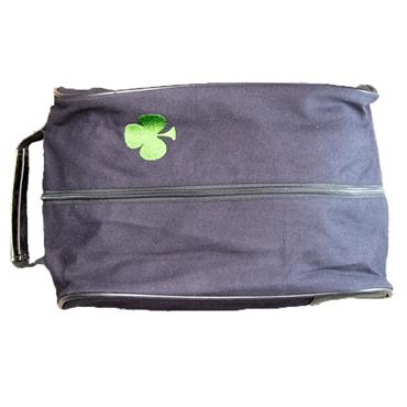 Shamrock Callaway Vintage Shoe Bag  Black
