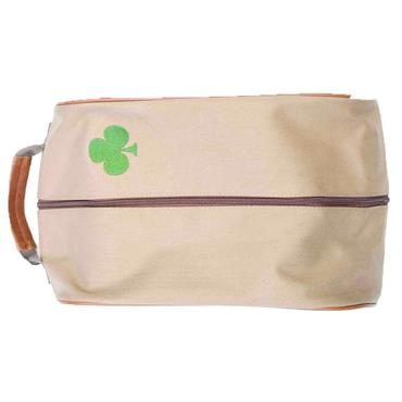 Shamrock Callaway Vintage Shoe Bag  Brown
