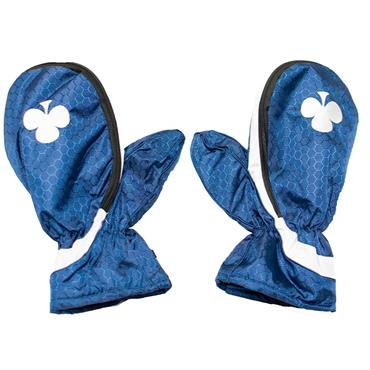 Shamrock Winter Mitts  Blue