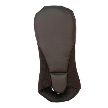 Shamrock Faux Leather Fairway Headcover  BLACK