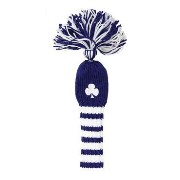 Shamrock Pom Pom Hybrid Headcover  Blue