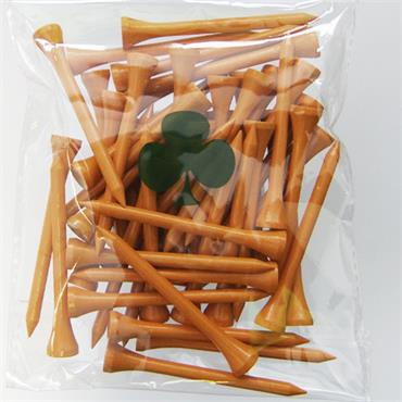 Yob Wooden Tees Pack of 50  ORGANGE