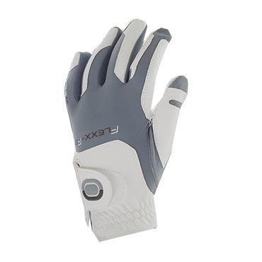 Zoom Weather Glove  White Silver