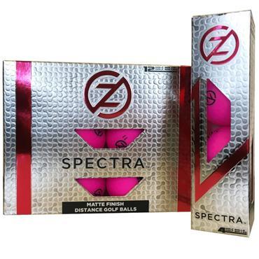 Zero Friction Spectra Matte Finish Distance Balls Dozen Fuchsia