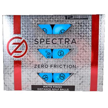 Zero Friction Spectra Matte Finish Distance Balls Dozen Blue