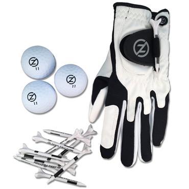 Zero Friction Supertube [LH Glove/3 Balls/10 Tees] Men Neon White