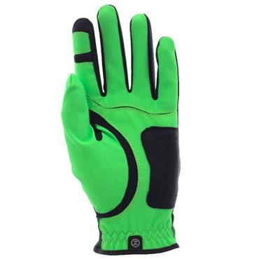 Zero Friction Gents Perf. Syn. Uni Fit Glove Left Hand Lime