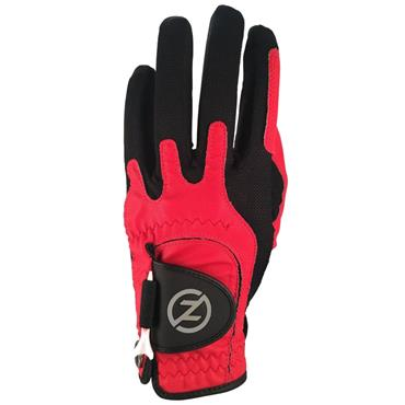 Zero Friction Gents Perf. Syn. Uni Fit Glove Right Hand Red