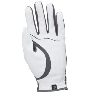 Zero Friction Gents Stryker Glove Left Hand White/Grey