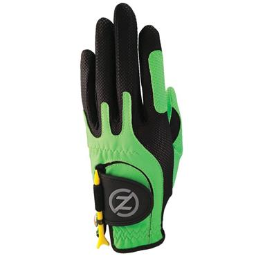 Zero Friction Junior Perf. Syn. Uni Fit Glove Left Hand Lime