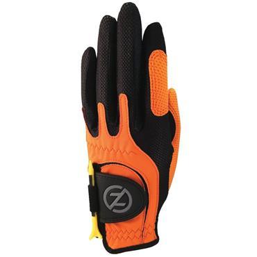 Zero Friction Junior Perf. Syn. Uni Fit Glove Left Hand Orange