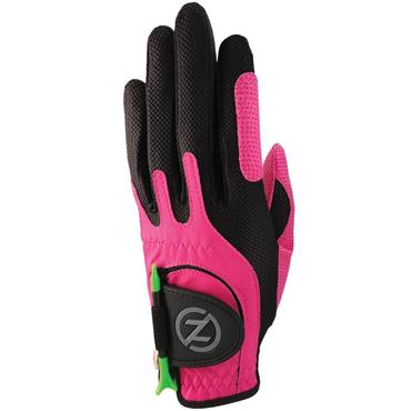 Zero Friction Junior Perf. Syn. Uni Fit Glove Left Hand Pink