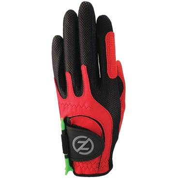 Zero Friction Junior Perf. Syn. Uni Fit Glove Left Hand Red