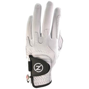 Zero Friction Gents Cabretta Elite Glove Left Hand White