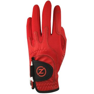 Zero Friction Gents Cabretta Elite Glove Left Hand Red