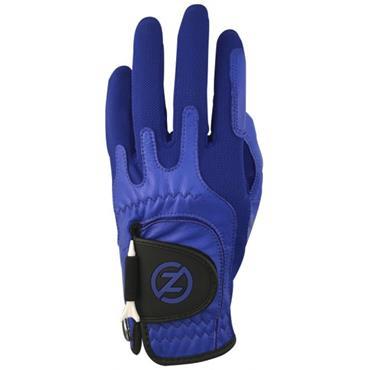Zero Friction Gents Cabretta Elite Glove Left Hand Blue