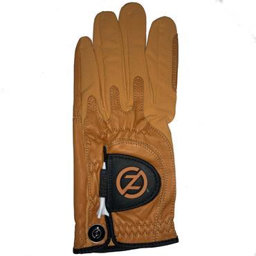 Zero Friction Gents Cabretta Elite Glove Left Hand Burnt Orange
