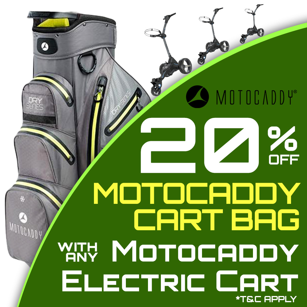 20% Off Motocaddy Bags