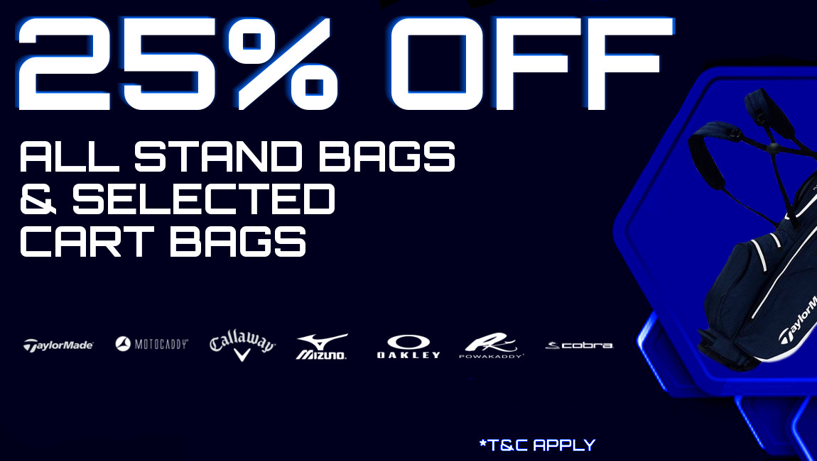 25% Off Stand Bags