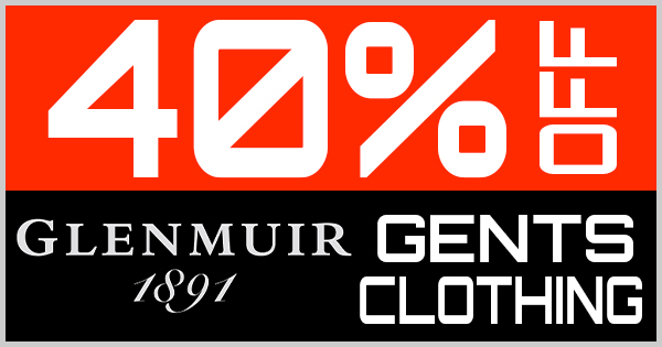 40% Off Glenmuir Gents Clothing