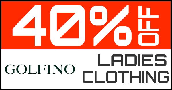 40% Off Golfino Ladies Clothing