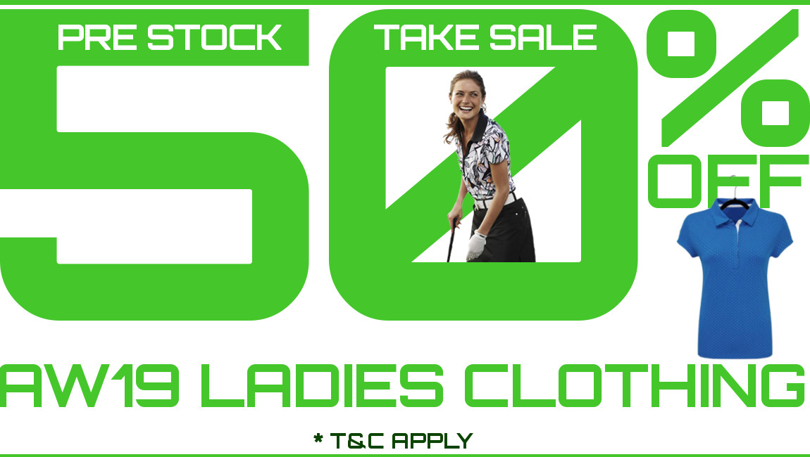 50% off all ladies clothing