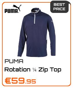 Puma Gents Rotation ¼ Zip