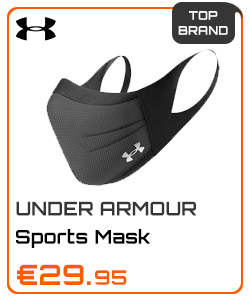 Under Armour Sports Mask Black - Charcoal