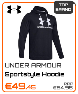 Under Armour Gents Sportstyle Terry Logo Hoodie