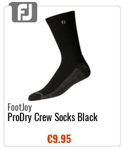 FootJoy ProDry Crew Socks Black